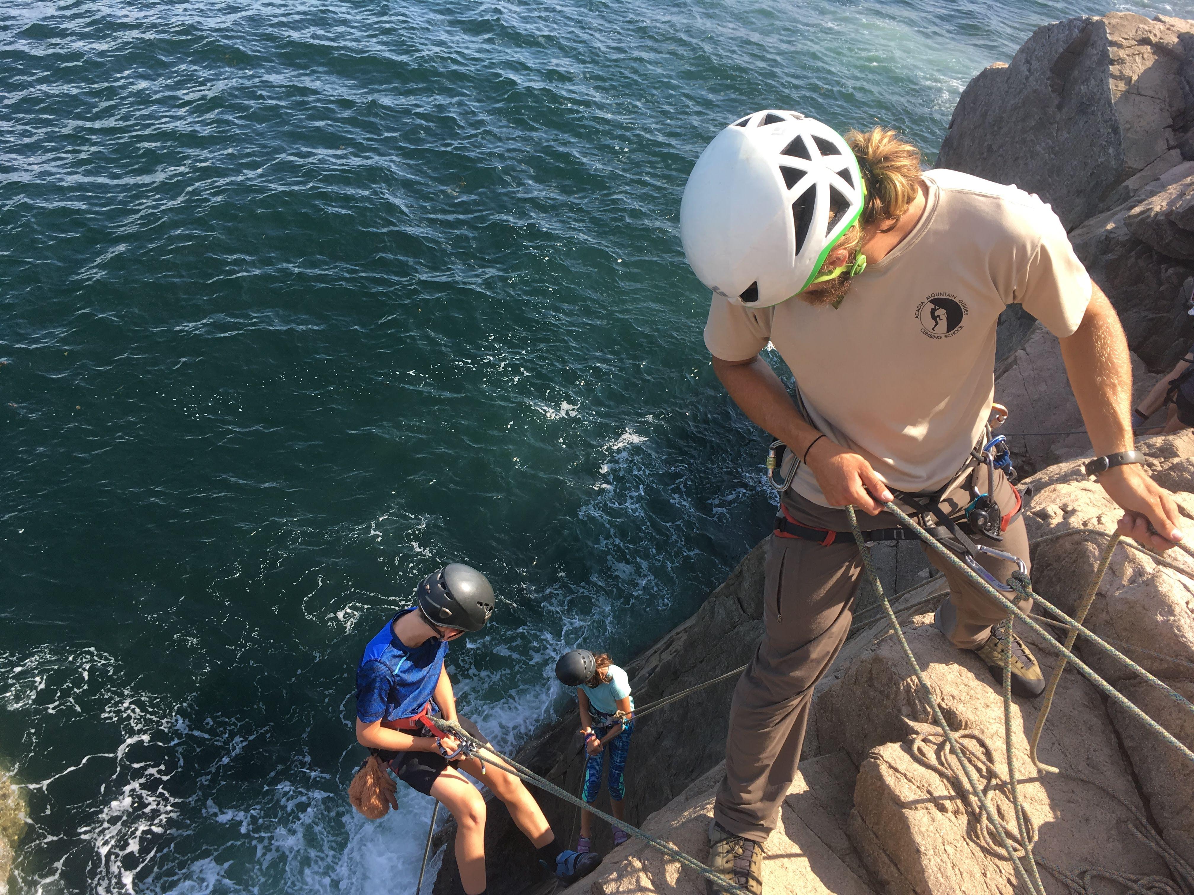 Home Acadia Mountain Guides Climbing School