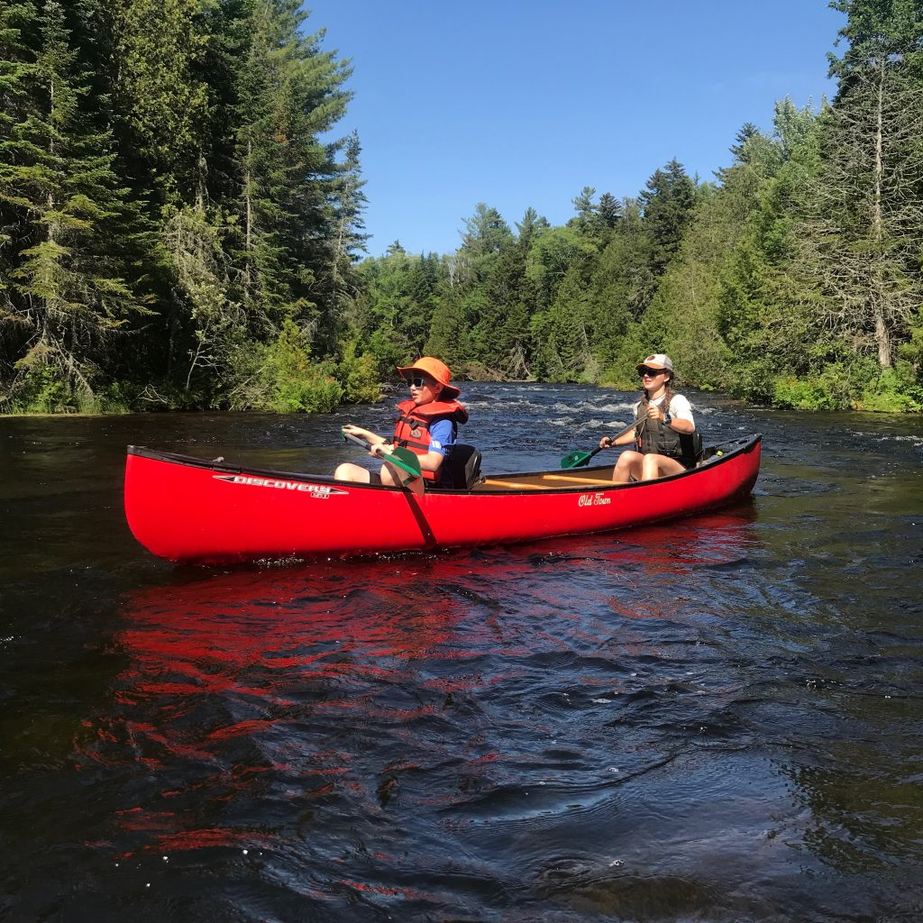 Quiet paddle on the West Outlet